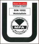 Holzmodul – DIN 1052 Holztafel | MPA